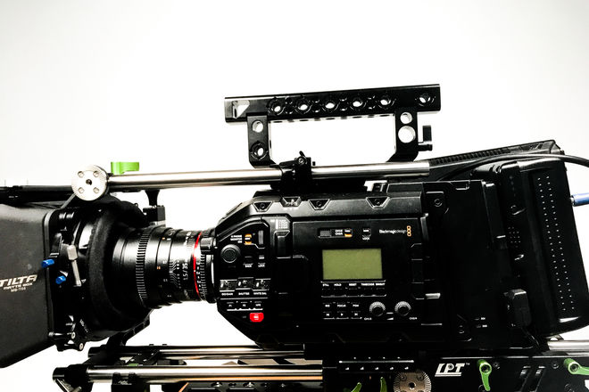 Blackmagic URSA Mini Pro Cine Package w/ 4 Cine Primes