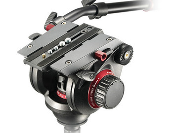 Rent: Manfrotto 504HD Head w/546B 2-Stage Aluminum Tripod System