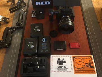 RED Helium 8K S35 ULTRA PRODUCTION KIT