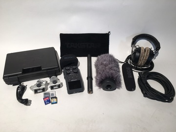 Rent: ZOOM H6 Portable Audio Recorder and BOOM KIT