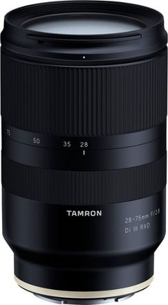 Tamron 28-75mm F2.8 for sony E emount with Variable ND