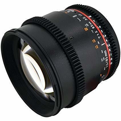 Rokinon Cine DS 85mm T1.5 SONY E mount