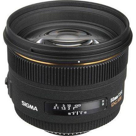 Sigma 50mm f/1.4 EX Nikon Mount