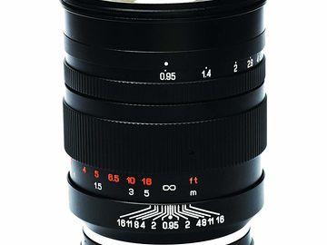 Rent: Mitakon 50mm f/0.95 Sony FE Cameras Standard-Prime Lens