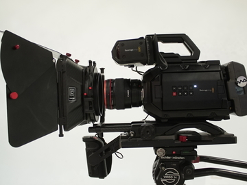 Rent: Blackmagic Design URSA Mini 4.6K PL or B4