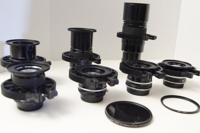 7 Nikon Vintage Prime lenses, Canon Ready