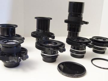 Rent: 7 Nikon Vintage Prime lenses, Canon Ready