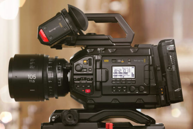 New Blackmagic URSA Mini G2 4.6K package 300fps + lenses