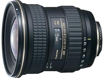 Rent: Tokina 11-16mm f2.8, Nikon Mount, MANUAL FOCUS ONLY