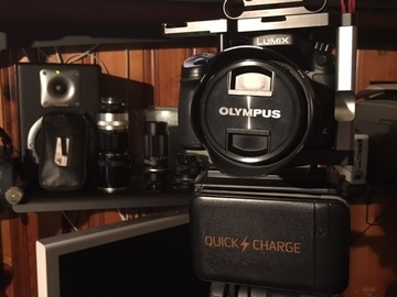 Rent: Lumix 4K GH4 W/Olympus 12 -40mm f2.8 2-Batteries 2-128gig SD
