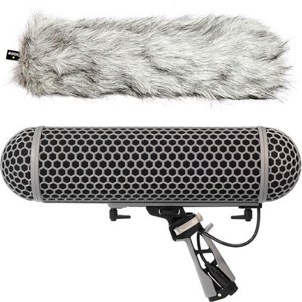 Rode Blimp Windshield & Rycote Shock Mount Suspension System