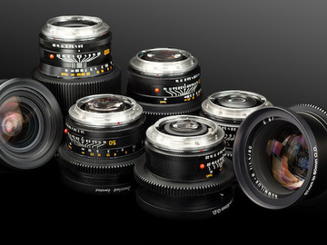 Rent: Leica Prime Lens Set (Cine Mods) 19, 28, 35, 50, 90, 135mm