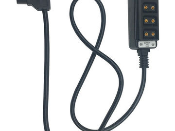 AndyCine Male D-Tap to 4-Port Female D-Tap Splitter Cable
