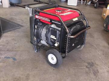 Rent: Honda EM7000is Inverter Generator