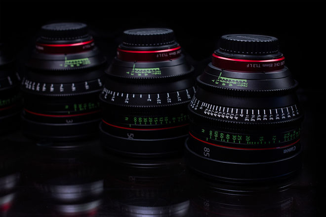 Canon CN-E Cinema Prime Lens Set  (Pick 3)