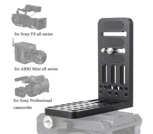 90 Degree L Bracket Plate (44lb Capacity w/ built in screws)