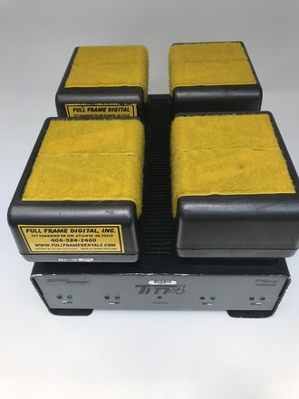 4 HCX Batteries W/Charger