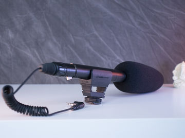 Sennheiser MKE 600 Shotgun Mic  w/ XLR-3.5mm adapter