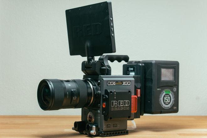 RED Scarlet-W Dragon 5K + Sigma Art 18-35mm + 480GB Minimag