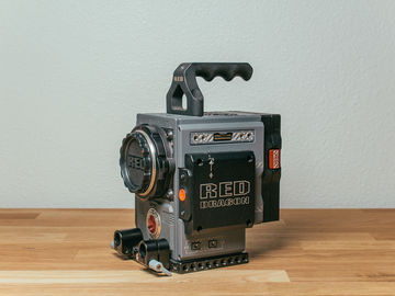 RED Scarlet-W Dragon 5K (Brain + EF Mount + Vmount expander)