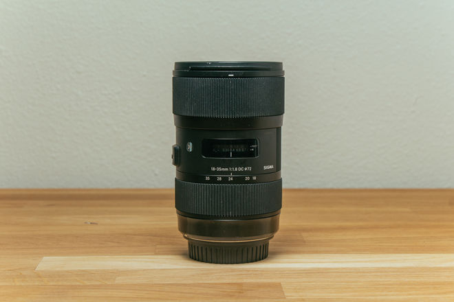 Sigma 18-35mm f/1.8 DC HSM Art (Canon Mount)