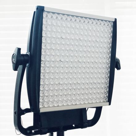 (1 of 2) Litepanels Astra 1x1 6x Bi-Color LED & Stand