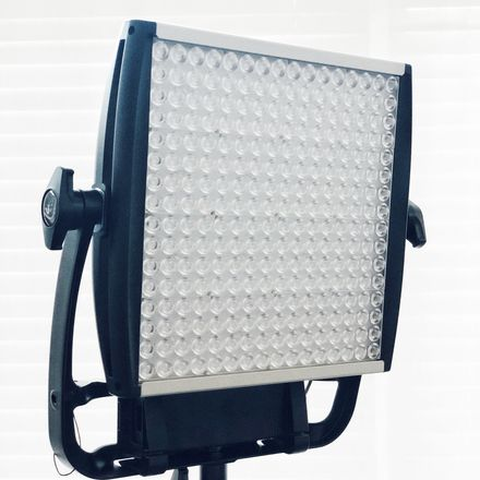 (2 of 2) Litepanels Astra 1x1 6x Bi-Color LED & Stand