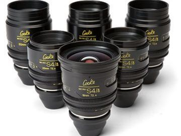 Cooke S4 Mini (six lens set)