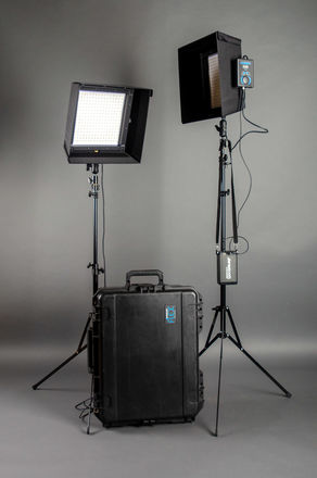 Westcott Flex Bi-Color LED Mat 2-Light Cine Travel Kit