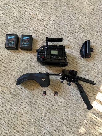 Blackmagic URSA Mini 4.6K RIG, READY TO SHOOT