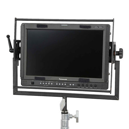 Panasonic BT-LH1760 with Yoke Mount and Gold Mount Plate