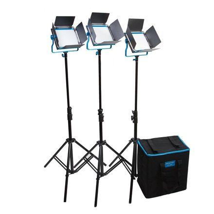 Dracast Dracast LED500 S-Series Daylight 3-Light Kit