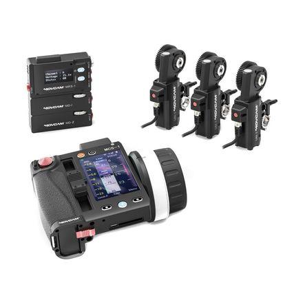 Movcam 3 channel wireless FIZ lens control system