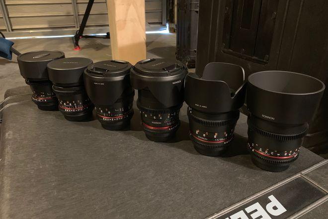 Rokinon Cine DS Lens Set (EF)