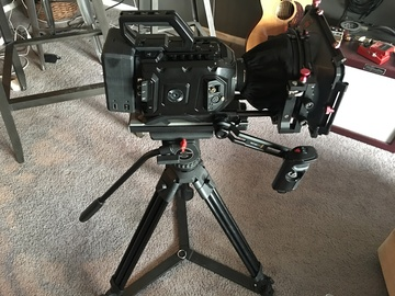 Rent: BlackMagic URSA Mini 4k EF Mount FULL Production Package