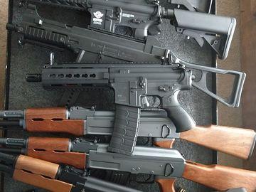 Custom Prop Gun Bundle - 3x M4a w/Magazine
