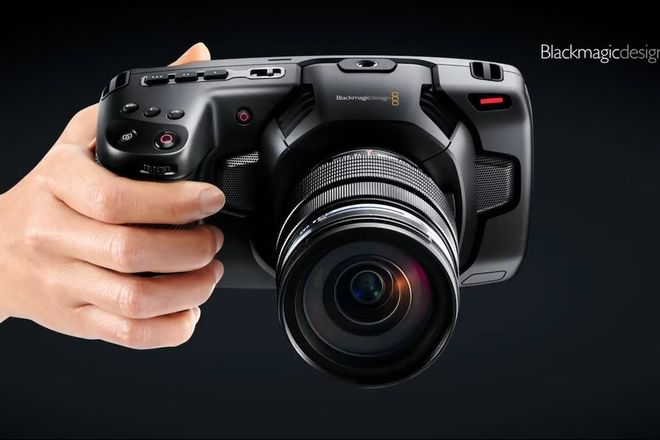 Black magic Pocket  4K  with Lens OR Speedbooster EoS