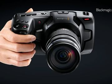 Black magic Pocket  4K  with Lens OR Speedbooster EoS