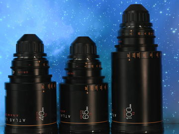 Atlas Lens Co. T2 Orion Series Lens Set