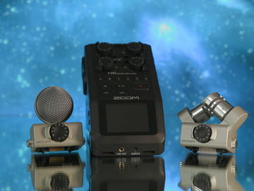 1 Zoom H6  Recorder sound Package with Rode NTG3