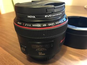 Rent: Canon 50mm f/1.2 L Lens