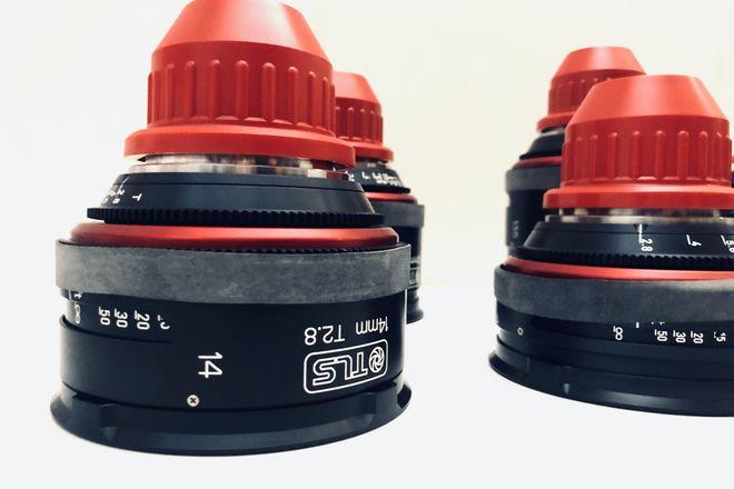 "Canon  K35 T1.4 Super Speeds ""Vintage""(choose 3)"