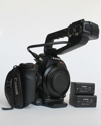 Canon EOS C100 | Authentic Images of Unit