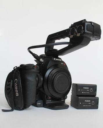 Canon EOS C100   Authentic Images of Unit