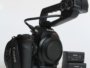 Canon EOS C100 | Authentic Images of Unit