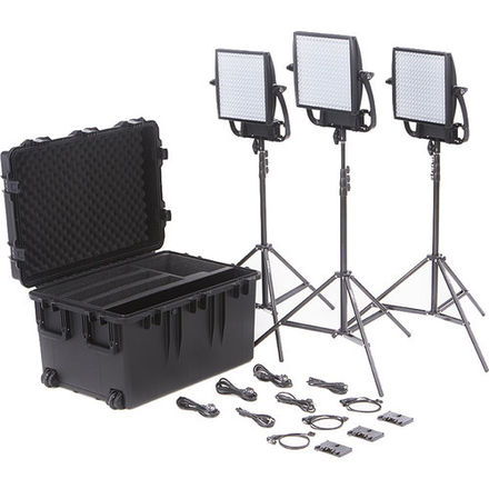6x Astra 3-point Lighting Kit w/2x Chimera Soft Boxes