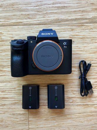 Sony a7 III Full-Frame Mirrorless Camera Package