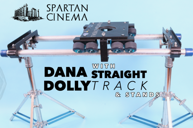 Dana Dolly with Straight Track and Stands #1 (Anti-Tip)