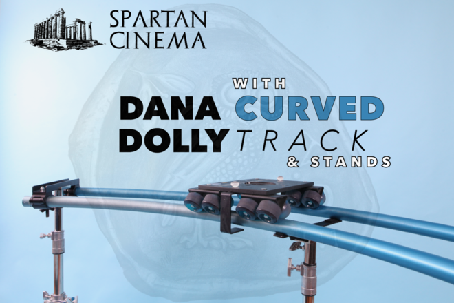 Dana Dolly + Curved Track + Stands (Anti-Tip)