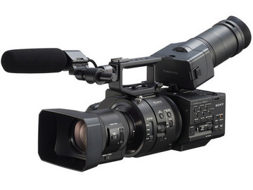 Sony NEX-FS700R with 18-200mm and Metabones EF adaptor